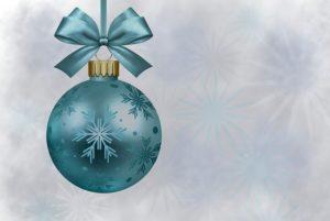 Świąteczne bombki prezent