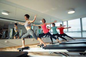 ćwiczenia po porodzie pilates