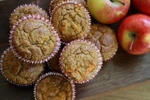 Warzywa dla dzieci na słodko czyli muffiny z marchewek
