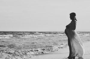 ciąża a plaża